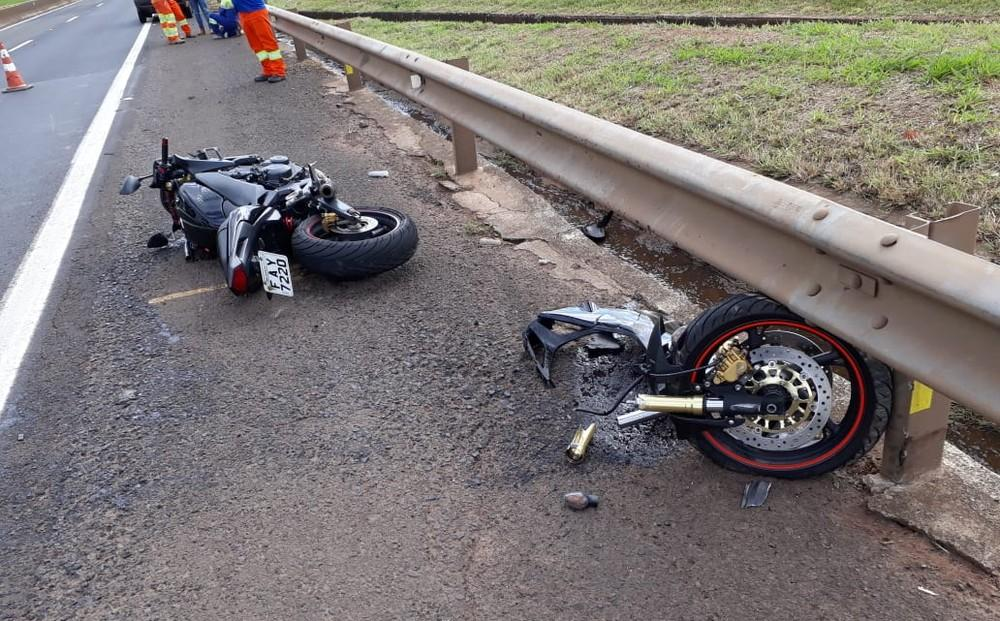 Acidente deixa motociclista ferido na rodovia Raposo Tavares em Assis