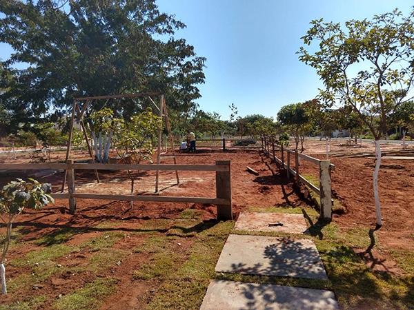 Moradores se unem e transformam praça no Parque das Nações, em Paraguaçu