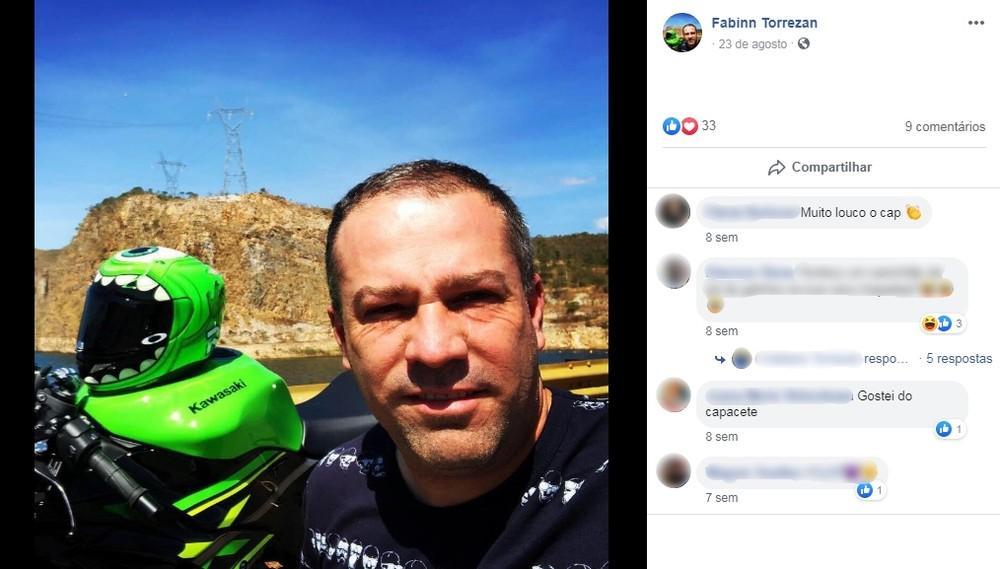 Dono do posto Alexandria morre em acidente com moto rodovia Rachid Rayes
