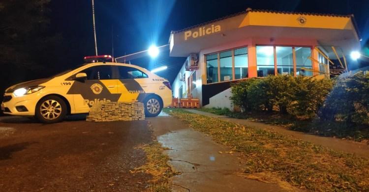 Polícia Rodoviária apreende 150 kg de maconha na Raposo Tavares
