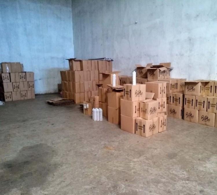 Polícia fecha barracão usado para fabricação de cosméticos adulterados em Assis