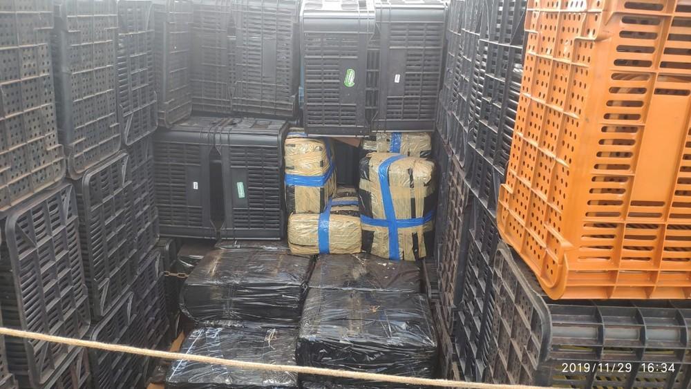 Polícia Rodoviária apreende quase 750 kg de maconha em caminhão na Rodovia Raposo Tavares em Ourinhos