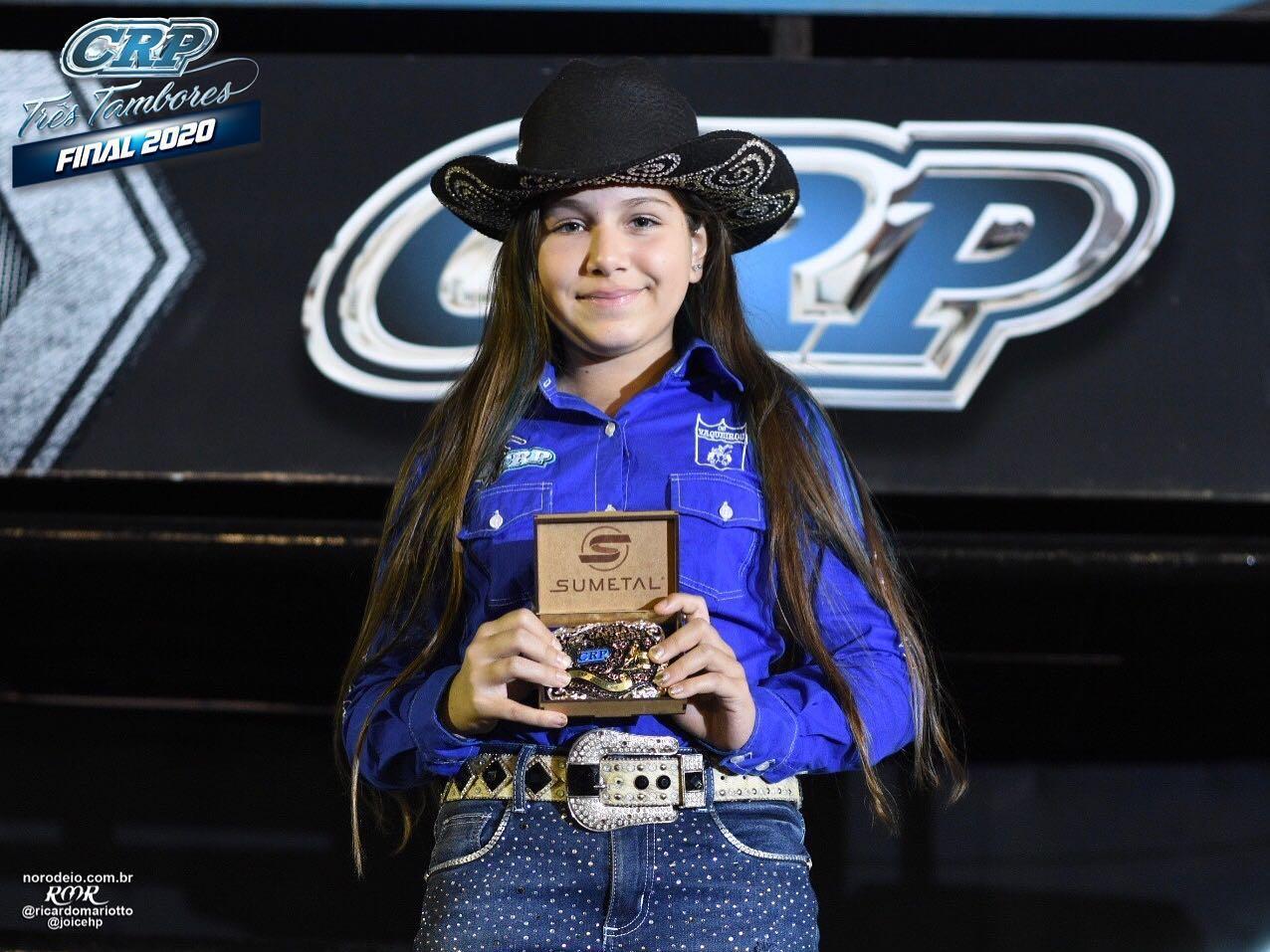 Competidora de Quatá é campeã da temporada 2020 do CRP Três Tambores