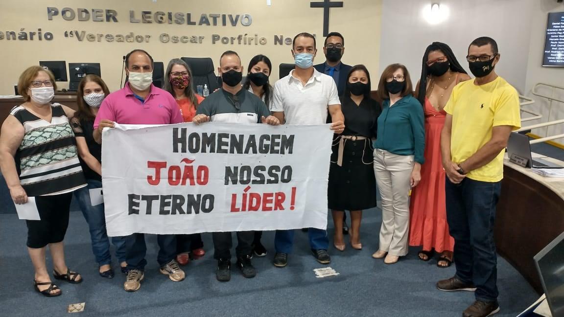 Câmara manifesta pesar pelo falecimento de João Luiz Donizete
